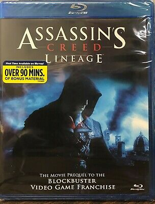 Assassins Creed: Lineage (Blu-ray Disc, 2011) NEW SEALED