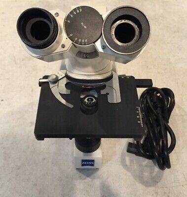 Carl Zeiss Axiostar Plus Microscope without lens SN: 3108009278