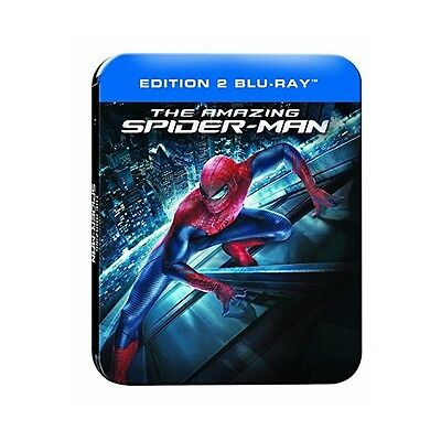"The Amazing Spider-Man ""Steelbook Ed. Prenium"" - Bluray X2 - Neuf Sous Blister"
