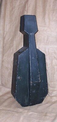 Rare W.e. Hill & Sons Of London Late Victorian Ebonised Wood Cello Case C1890