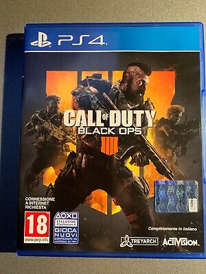 Call Of Duty Cod Black Ops 4 Iiii Per Playstation 4 Ps4 Nuovo Ps 4