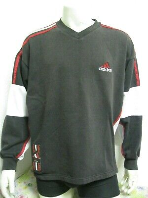 Vintage 90 Ancien SWEAT ADIDAS HOCKEY sur GLACE Chandail Jersey Trikot Maillot