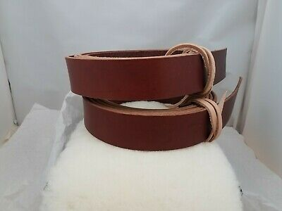 English bridle leather strap- 1.5 Inch Wide