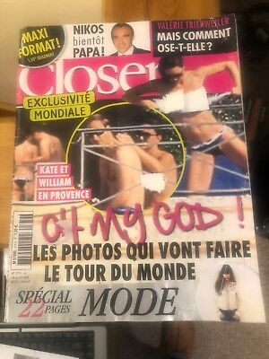 French magazine Closer No 379