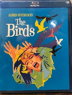 The Birds (Blu-ray Disc, 2016) NEW SEALED