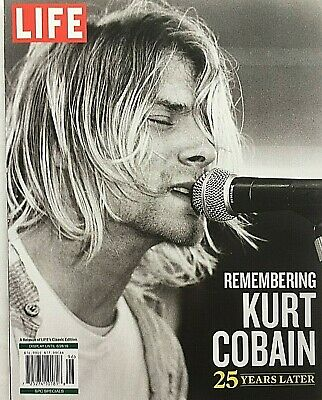 REMEMBERING KURT COBAIN 25 YEARS LATER 2019 LIFE MAGAZINE SPECIAL Brand New