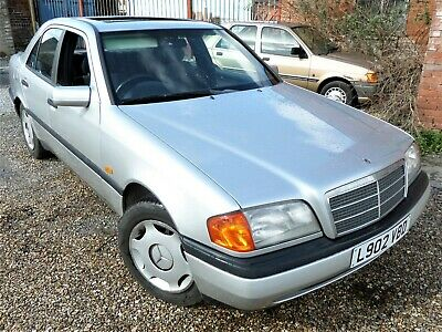 1994 Mercedes C200 Manual 118K Mot 11/9/19 Rare Car Rwd Classic Retro German
