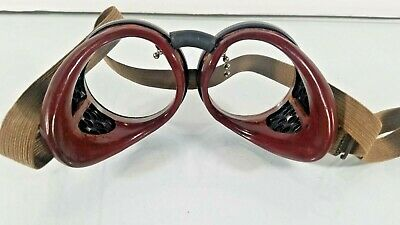 Vintage Rare Duraweld  Welding Goggles Steampunk Made USA
