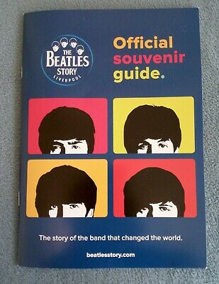 The Beatles Story Liverpool Official Souvenir Guide - New - Free P&P
