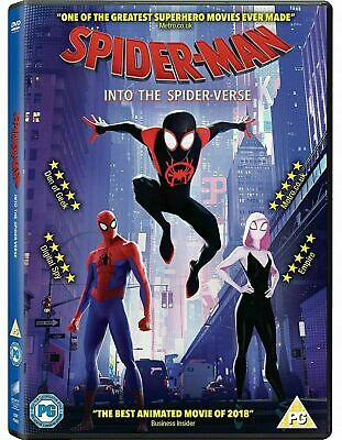 Spider-Man Into The Spider-Verse - New DVD / Free Delivery Spiderman SpiderVerse