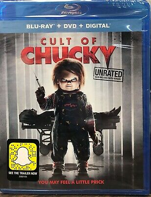 Cult of Chucky (Blu-ray Disc, 2017, 2-Disc Set)