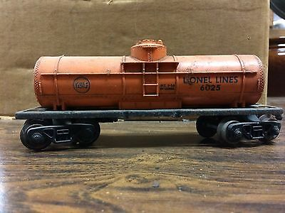 Lionel Train - Gulf Lionel Lines Transport 6025 BLT 1-56 by Lionel - J48