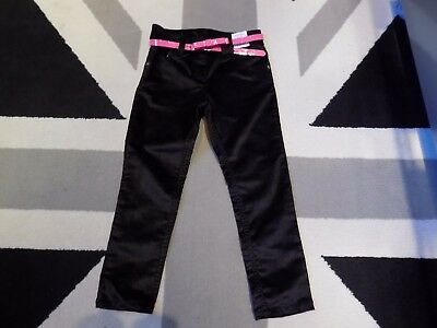 Next Black Soft touch Trousers, 4 yrs, 104cm, Adjustable Waist band, PARTY, NEW