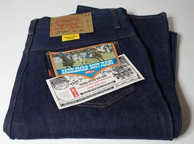 Levi's 517 Saddleman Jeans W38 L36 Made in USA