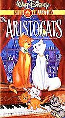 The Aristocats (VHS, 2000, Gold Collection) clamshell