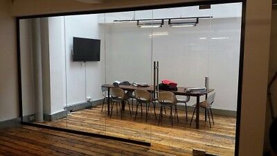 Office Glass Partitions- Toughened Glass Panel - Glass Partitioning- NEW