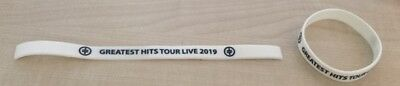 2019 Take That Greatest Hits Tour Wristband White Also Available In Black