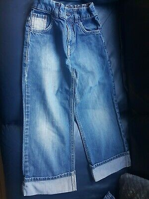 Next boys jeans age 6 yrs with elasticated waist at back.