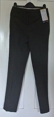 New Next girls school Trousers Grey 10 years