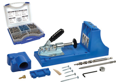 K4 Kreg Pocket Hole Jig & 675 PCE Pocket Screw Selection Pack SK03. - K4SK03