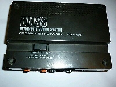 PIONNER RD-N120 DMSS SY DYNAMIC SOUND SYSTEM Crossover network