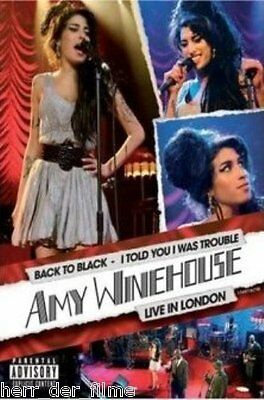 AMY WINEHOUSE: I TOLD YOU, I WAS TROUBLE (Live in London) NEU+OVP