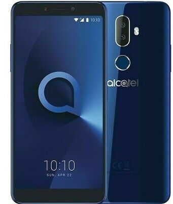 ALCATEL 3V 5099Y 16GB Spectrum Blue 4G *UNLOCKED* Quad Core HD Smartphone A++