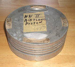 WWII Airplane Pratt & Whitney Piston from a C47