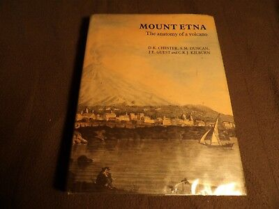 Mount Etna anatomy of a volcano Chester 1985  D