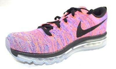info for 5eb05 e1d1e NIKE MEN S Sz 8.5 FLYKNIT MAX RUNNING SHOES MULTICOLOR STYLE 620469 404 Sz  8.5