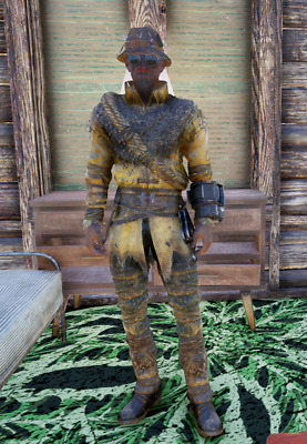 FALLOUT 76 RARE APPAREL * WESTERN OUTFIT W/ CHAPS * [xbox-xb1