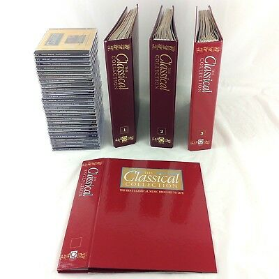 The Classical Collection 45 Magazines in Binders 26 CDs Mozart Chopin Vivaldi