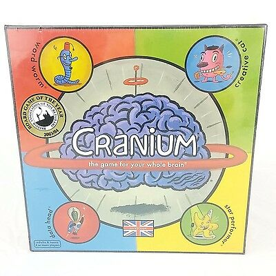 New & Sealed Cranium Board Game UK Edition - Family Fun Adults & Teens