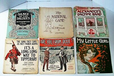 Antique & Vintage Sheet Music & Magazines 49 Pieces In All