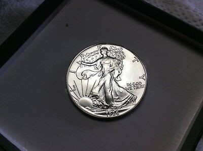 """1986"" Silver American Eagle .999 Fine 1 Oz. Pure  From Roll"