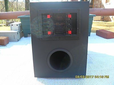 Klh  Passive  Subwoofer  With  Crossover  (Twin    Woofers)