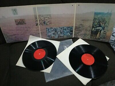 Woodstock Two Mountain Hendrix Crosby Stills Nash&young 2 Lp Exc+ Psych Us Press