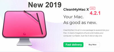 CleanMyMac X 4.4.2- Full Version + updates - Clean my mac Instant delivery- 2019