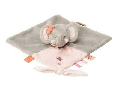 Nattou Adele & Valentine Collection - Doudou Comforter (Adele The Elephant) Free