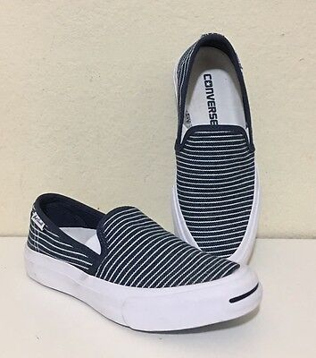 bf7a354f2ea1 CONVERSE JACK PURCELL II Slip-On in Navy White
