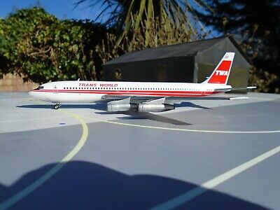 Inflight 200 1/200 Scale Boeing 707-131B Trans World N799Tw If70711117