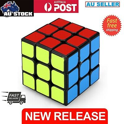 3x3x3 Speed Super Smooth Fast Magic Cube Rubic's Puzzle Toy With Solution Guide