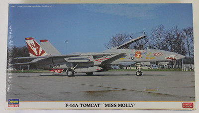Limited Edition Hasegawa F-14A Tomcat ' Miss Molly '  VF-111 in 1/72 2123