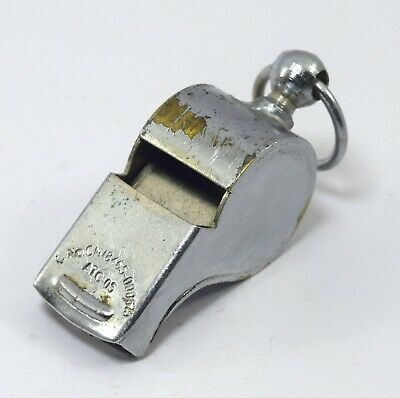 Collectible Dog Training Brass Whistle – Coach Whistle – Kids Toy. G70-254 US