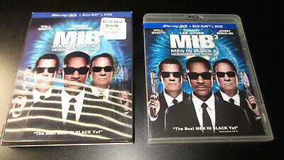 Men in Black 3 3D Blu-ray with lenticular Slip cover, Smith and Thanos