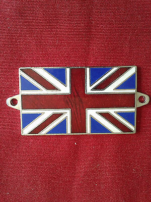 Badge Union Jack émail