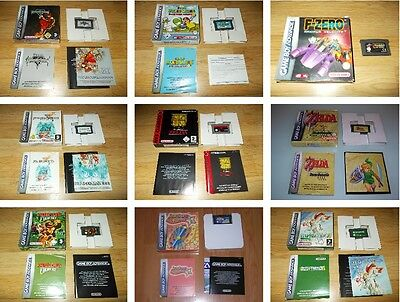 Nintendo Game Boy Advance Juegos  - Elige De La Lista - Pokemon Mario Metroid