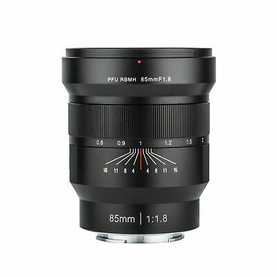 VILTROX 85mm f/1.8 Full-Frame Manual Fixed focus lens for Sony E Mount A9 A7M3