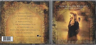 CD 8T LOREENA McKENNITT THE BOOK OF SECRETS 1997 TBE