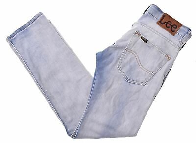 LEE Boys Jeans 11-12 Years W26 L28 Blue Straight Perry GJ01